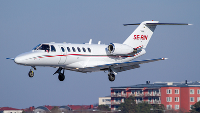 SE-RIN - Cessna 525A CitationJet CJ2 - Svenskt Industriflyg