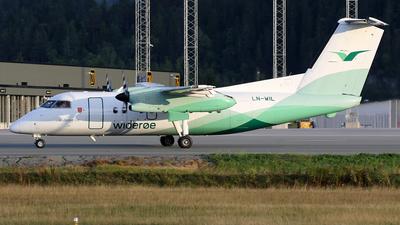 A picture of LNWIL - De Havilland Canada Dash 8100 - Wideroe - © Stig Rokkones