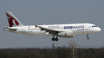 A7-AHO - Airbus A320-232 - Qatar Airways