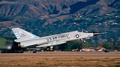 67 - Convair F-106A Delta Dart - United States - US Air Force (USAF)