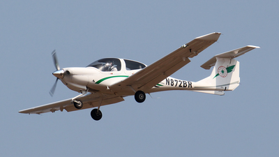 N872BR - Diamond DA-40 Diamond Star - EVA Flight Training Academy
