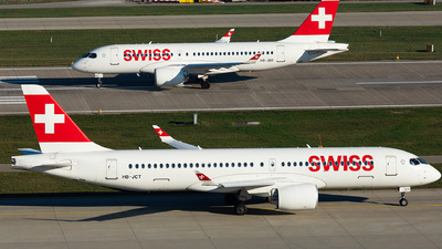 A picture of HBJCT - Airbus A220300 - Swiss - © John Richard