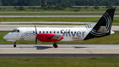 N346AG - Saab 340B - Silver Airways