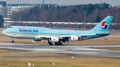 HL7643 - Boeing 747-8B5 - Korean Air