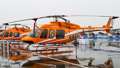 B-707C - Bell 407GXP - Shaanxi Helicopter