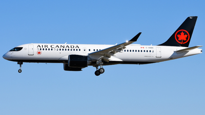 A picture of CGNBE - Airbus A220300 - Air Canada - © Aaron Miles