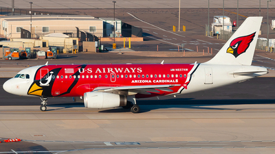 N837AW - Airbus A319-132 - US Airways