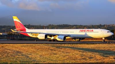 EC-LFS - Airbus A340-642 - Iberia
