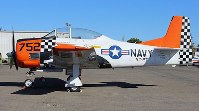 N220NA - North American T-28B Trojan - Private