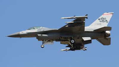 87-0348 - General Dynamics F-16C Fighting Falcon - United States - US Air Force (USAF)