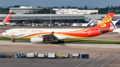 A picture of B8287 - Airbus A330343 - Hainan Airlines - © A Turner - aidans_aviation