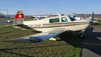 HB-DHW - Mooney M20J-201 - Private