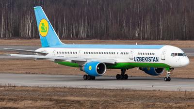 A picture of UK75704 - Boeing 757231 - Uzbekistan Airways - © Marianna Rychkovskaia