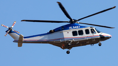 HL9487 - Agusta-Westland AW-139 - Korean Air