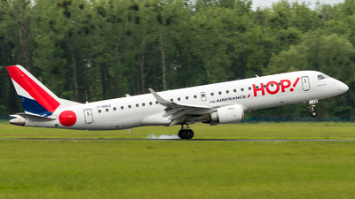 F-HBLE - Embraer 190-100LR - HOP! for Air France