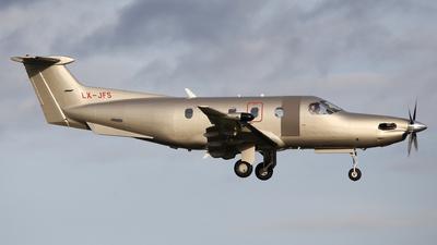 LX-JFS - Pilatus PC-12/47E - Jetfly Aviation