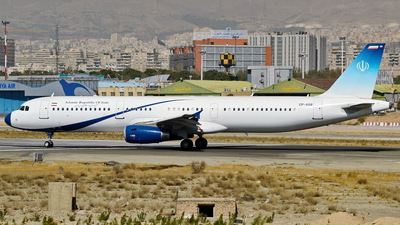 EP-AGB - Airbus A321-231 - Iran - Government