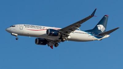 XA-MAK - Boeing 737-8 MAX - Aeromexico