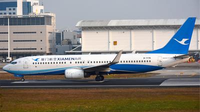 B-7176 - Boeing 737-85C - Xiamen Airlines
