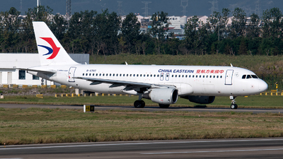 A picture of B6797 - Airbus A320214 - China Eastern Airlines - © LaiLai