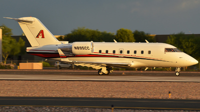 A picture of N895CC - Bombardier CL601 Challenger - [5177] - © Justin Lawrence
