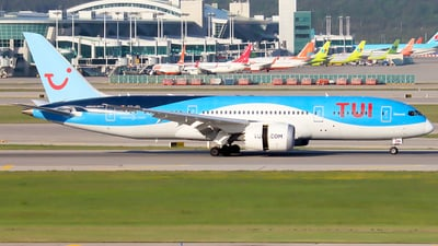 A picture of OOJDL - Boeing 7878 Dreamliner - TUI fly - © YoungKyun Shin