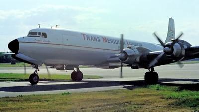 G-ATMF - Douglas DC-7C(F) - Trans Meridian London
