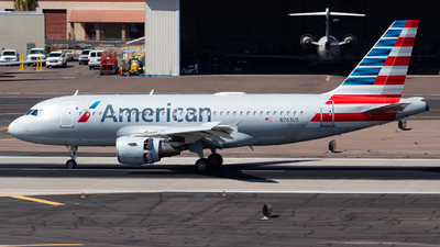 A picture of N763US - Airbus A319112 - American Airlines - © Saul Hannibal