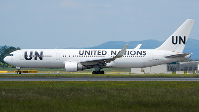 A picture of ETALJ - Boeing 767360(ER) - United Nations - © Martin O.