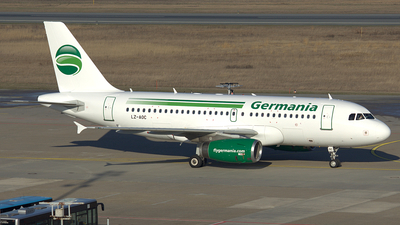 LZ-AOC - Airbus A319-132 - Germania (Bulgarian Eagle)