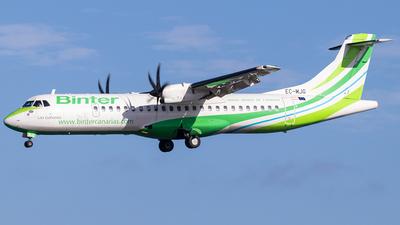 EC-MJG - ATR 72-212A(600) - Binter Canarias (Canarias Airlines)