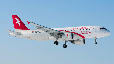 A6-ABQ - Airbus A320-214 - Air Arabia