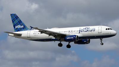 A picture of N729JB - Airbus A320232 - JetBlue Airways - © Xiamen Air 849 Heavy