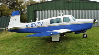 G-BDTV - Mooney M20F - Private