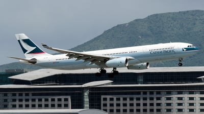 B-LBF - Airbus A330-343 - Cathay Pacific Airways