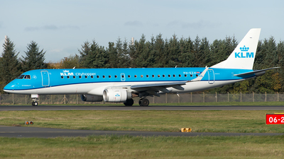 PH-EZH - Embraer 190-100STD - KLM Cityhopper