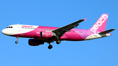 A picture of JA806P - Airbus A320214 - Peach - © Jiwon Suh