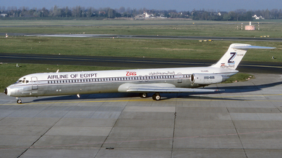 YU-ANG - McDonnell Douglas MD-82 - ZAS Airline of Egypt