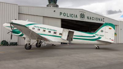 PNC-0257 - Basler BT-67 - Colombia - Police