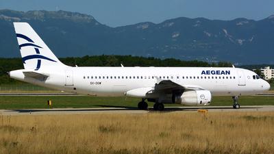 SX-DGW - Airbus A320-232 - Aegean Airlines