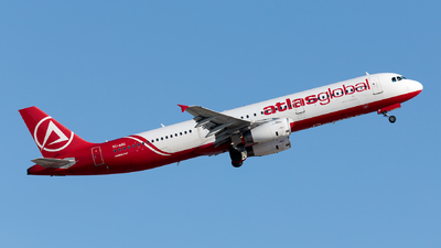 A picture of TCAGG - Airbus A321231 - AtlasGlobal - © Ömür Sadikoglu