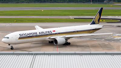 9V-SYF - Boeing 777-312 - Singapore Airlines - Flightradar24