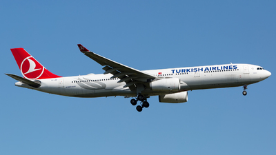 A picture of TCJNM - Airbus A330343 - Turkish Airlines - © Chris Pitchacaren