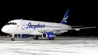 A picture of RA89012 - Sukhoi Superjet 10095B - Yakutia Airlines - © Arkady Perevoznikov