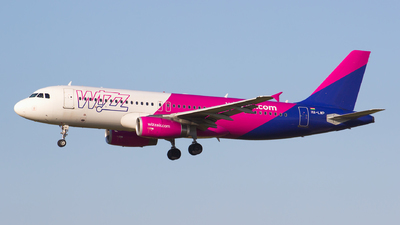 A picture of HALWP - Airbus A320232 - Wizz Air - © Gergely Molnár