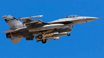 92-3903 - Lockheed Martin F-16C Fighting Falcon - United States - US Air Force (USAF)