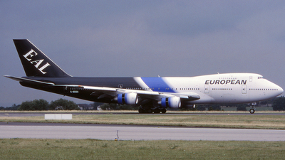 G-BDXH - Boeing 747-236B - European Aviation (EAL)