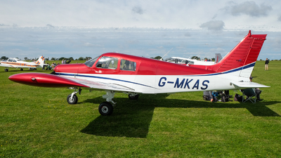 G-MKAS - Piper PA-28-140 Cherokee Cruiser - Private