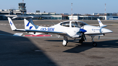 OO-SKW - Diamond DA-42 Twin Star - SkyWings Flight Training