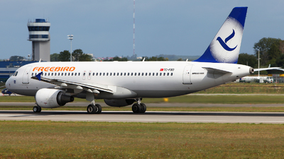 TC-FBO - Airbus A320-214 - Freebird Airlines